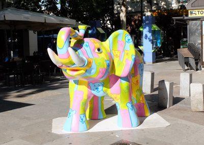Elefante Bollywood Madrid , tamaño para web