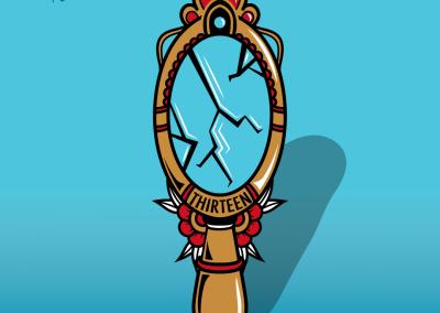 Broken mirror 1